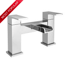 Waterfall Bath Filler - Chrome