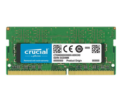 RAM LAPTOP CRUCIAL 4GB 2666Mz