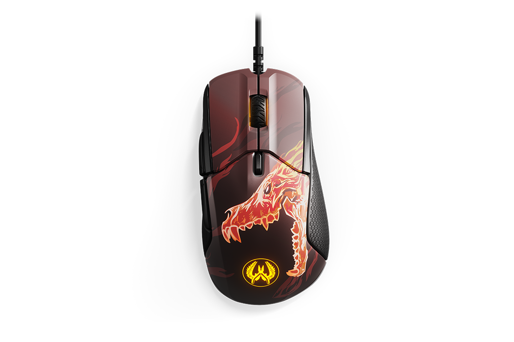 MOUSE STEELSERIES RIVAL 310 CS GO GAMING 12000 DPI