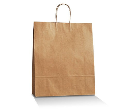 Brown Kraft Bag Medium Plus 420x315x125mm