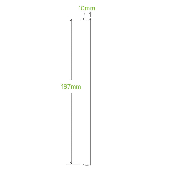 10MM JUMBO ART BIOSTRAW