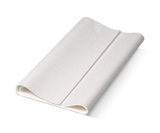White Greaseproof Paper - 1/3 Cut 410x220mm, 30 GSM