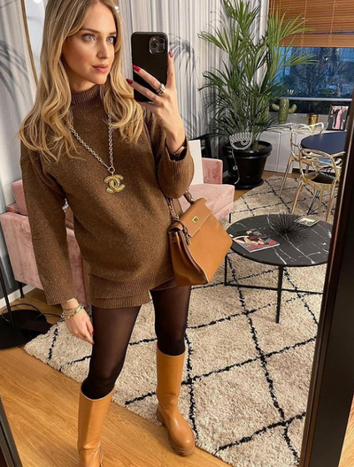 Beautiful Chiara wears Gia X Pernille Teisbaek Perni 07 Boots