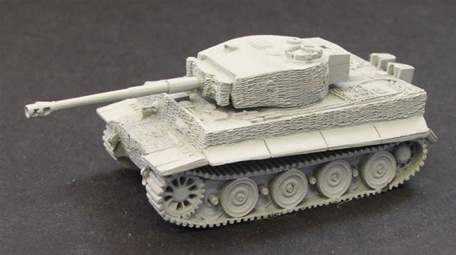 CD300A  Tiger Tank (with zimmerit)
