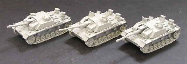 CD353  Stug III G (inc '105' Barrel) 1 supplied - picture shows assembly options