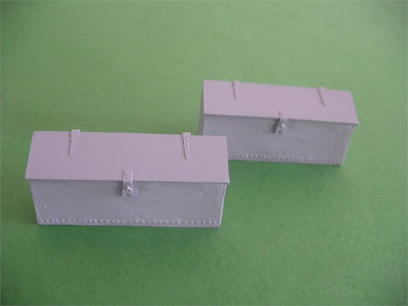 7/026 Steel Tool Bin Lineside (Pair)