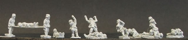 CD GI 11  Dead/Wounded & Stretcher Teams