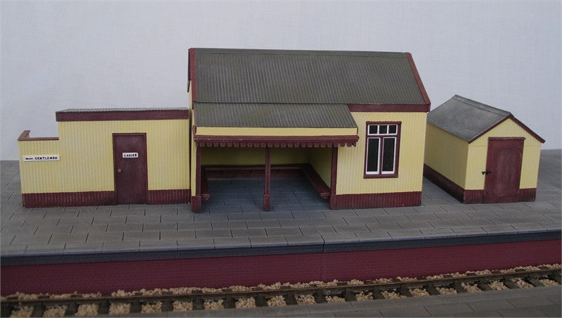 7/PBS02 Corrugated waiting shelter