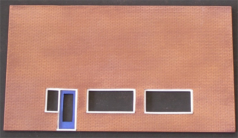 4/012A Brick shop front panel UNPAINTED