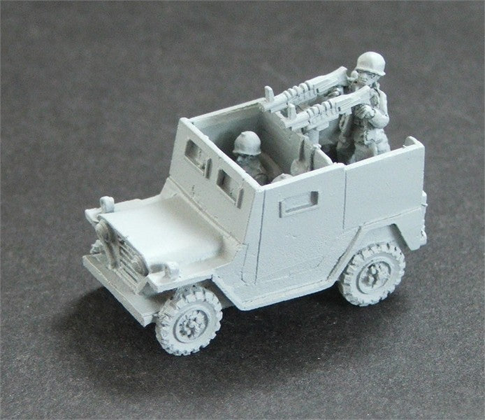 PW838E Armoured Mutt with Radio & Twin M60 MG