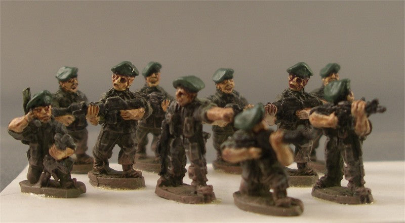 PWVS3   U.S. Special Forces squad (10 figs)