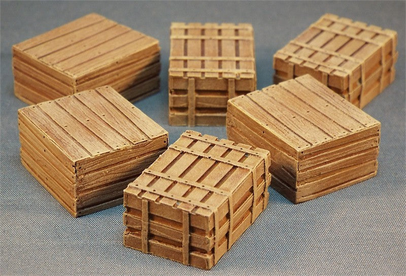 SMRA59 Wooden Crates (Resin)