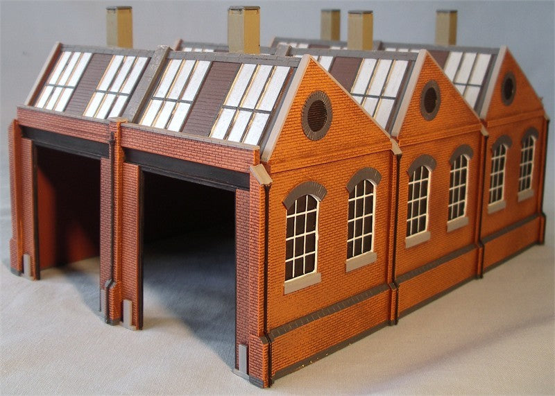 4/042 North-light engine shed kit
