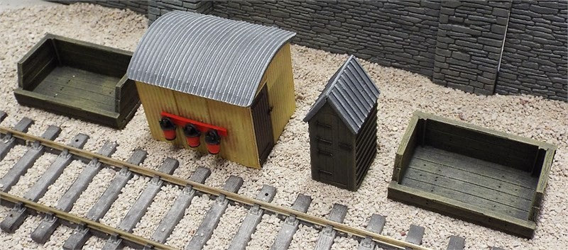7/LSA03 GWR Lineside Accessory Set