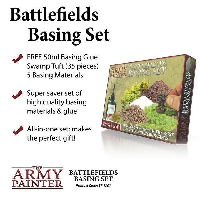 BF4301 Army Painter: Battlefields Basing Set