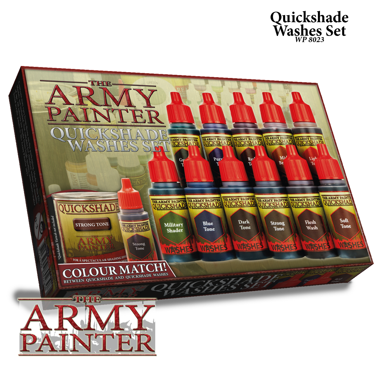 WP8023 Army Painter: Quick Shade Washes Set