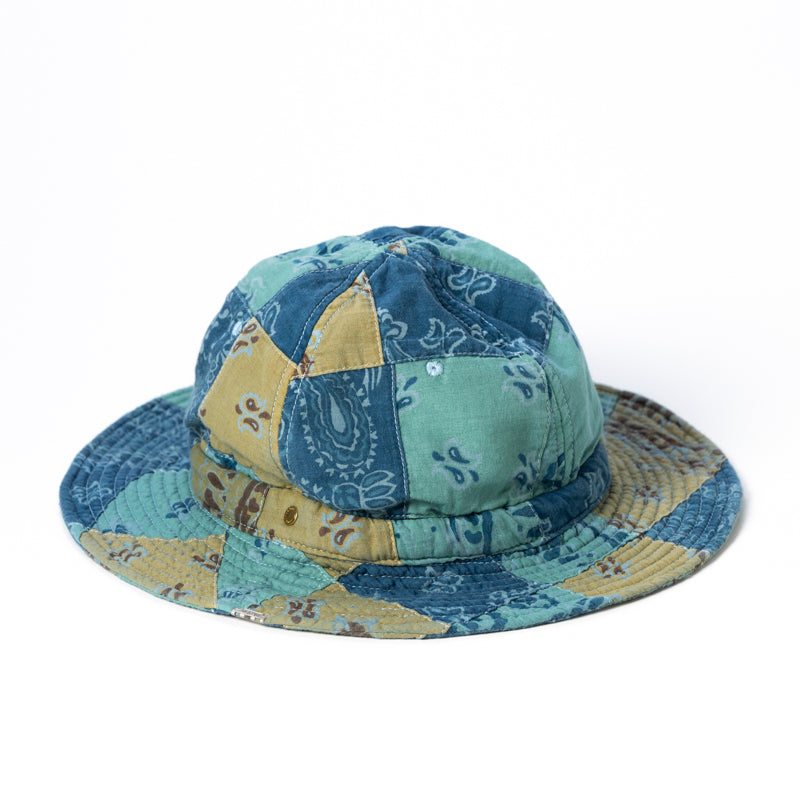 ANDC-069 PATCHWORK HUNTER HAT B.GLAY