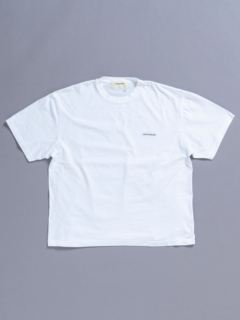 AN113 EMBROID S/S T-S WHITE OW