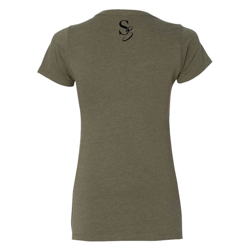 Sexy Yet Savage® SS Circle Tee | Olive - Sexy Yet Savage®