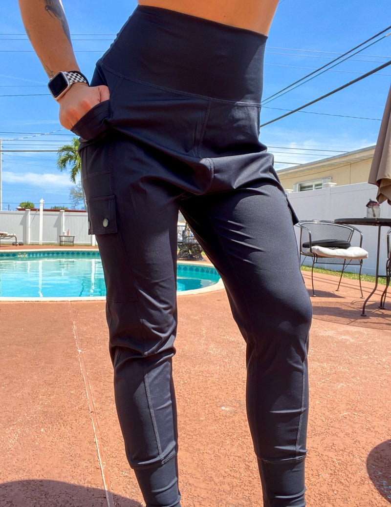 Sexy Yet Savage® Dropped Performance Joggers | Black - Sexy Yet Savage®