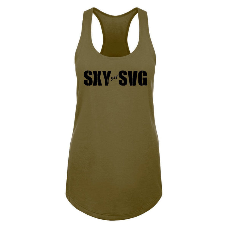 "Sexy Yet Savage® ""SXY yet SVG"" Racerback Tank 
