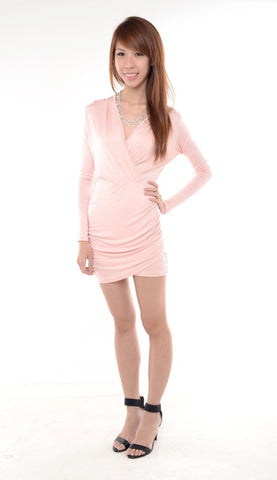 Monroe Classic Dress in BLUSH