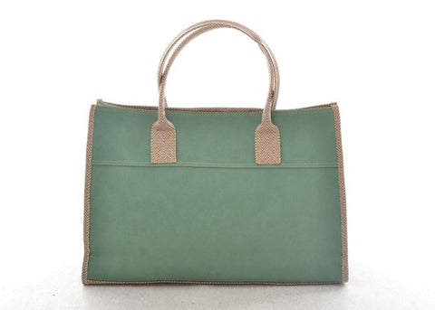 Emily Basic Tote in MINT