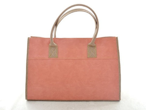 Emily Basic Tote in PINK