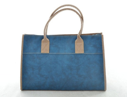 Emily Basic Tote in BLUE