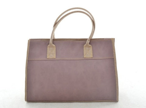 Emily Basic Tote in LILAC