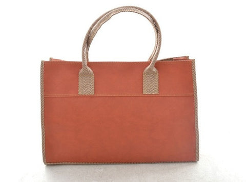 Emily Basic Tote in DUSTY PINK