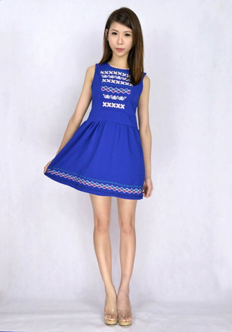 Metilda Embroidery Dress
