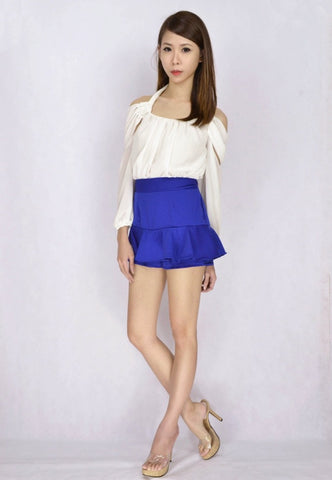 Agri Frill Skorts (v.2) in  ROYAL BLUE