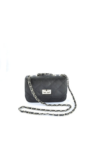 Candy Quilted Bag in BLACK