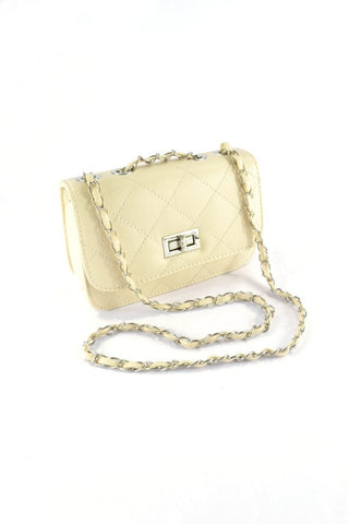 Candy Quilted Bag in NUDE