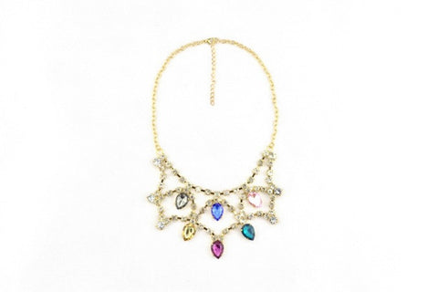 Royal Jewel Necklace in RAINBOW