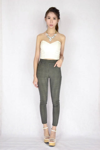 Gathe Grid Pants (v.2)