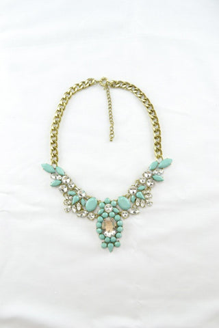 Pelix Necklace in MINT