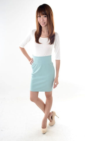 Back-to-basic Pencil skirt