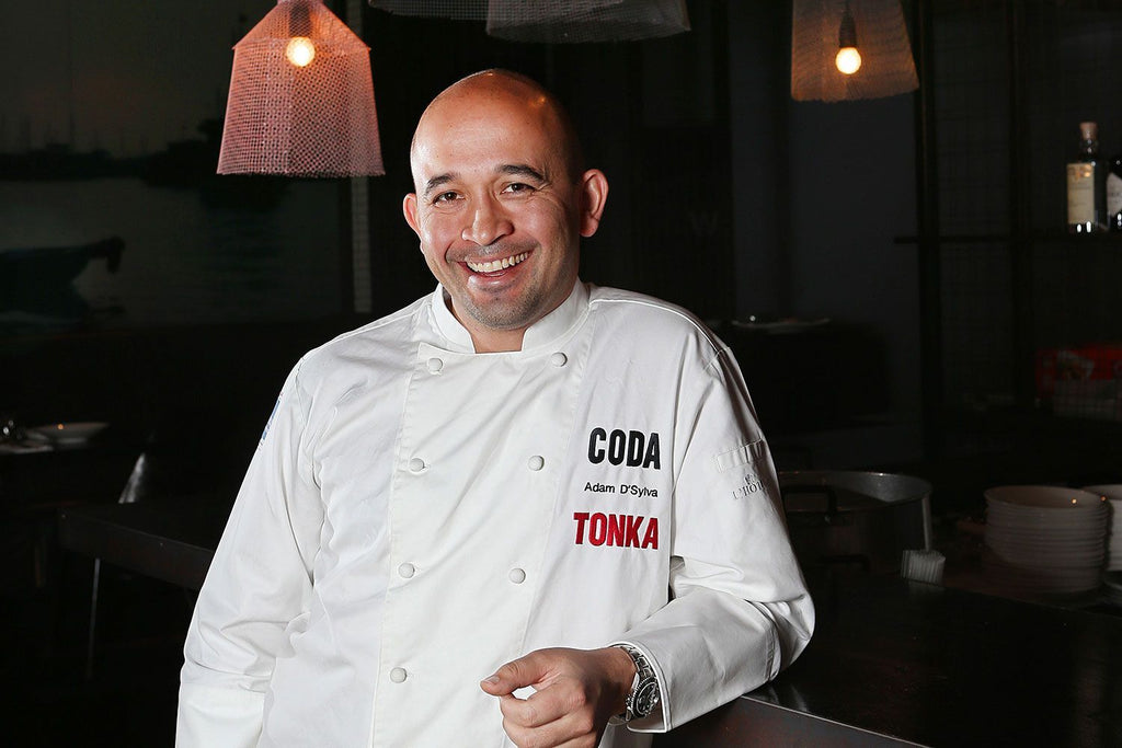 Adam D'Sylva Chef, Coda, Cooking the Books Podcast with Robbie Bell