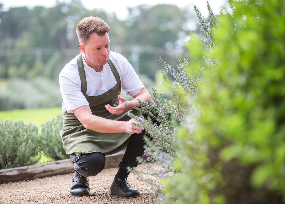Adam Sanderson, Chef, Ten Minutes by Tractor, Cooking the Books Podcast with Robbie Bell