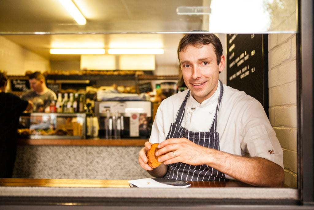 Michael James, Tivoli Road Bakery, Cooking the Books Podcast with Robbie Bell