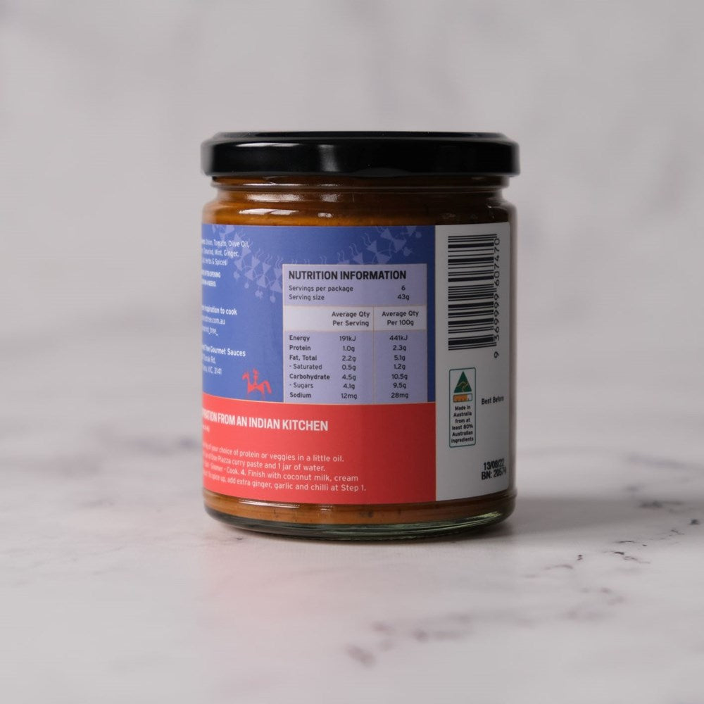 Curry Paste, Doe Piazza