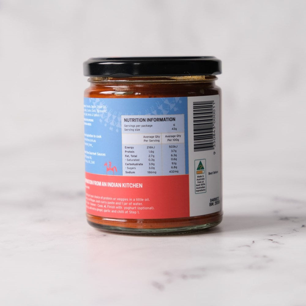 Curry Paste, Rogan Josh