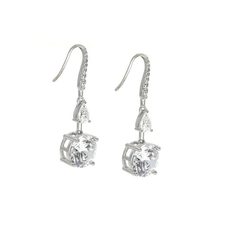 Anastasia 11 Earrings Diamond White - Anna Zuckerman Luxury Earrings