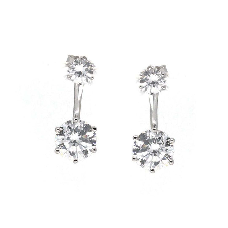 Anastasia 18 Earring Diamond White - Anna Zuckerman Luxury Earrings