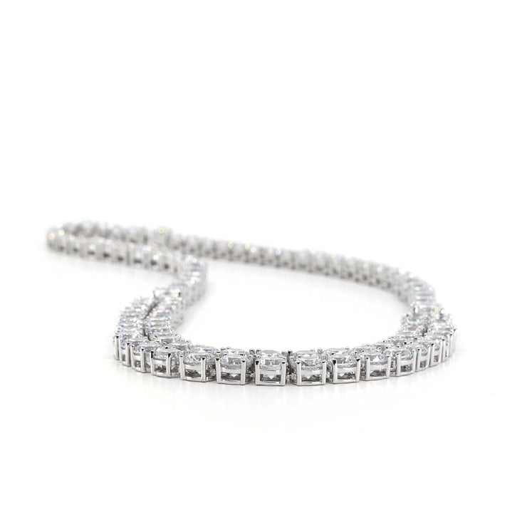 Anastasia 21 Necklace Diamond White - Anna Zuckerman Luxury Necklace