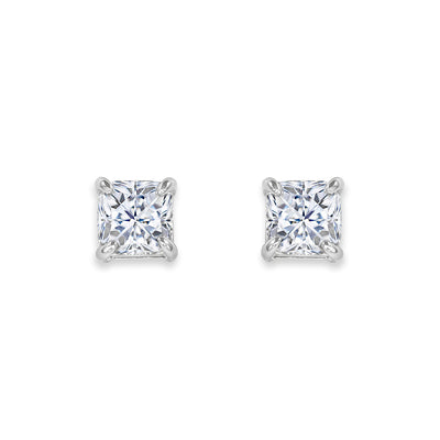 Arabella 19 Earrings Diamond White - Anna Zuckerman Luxury