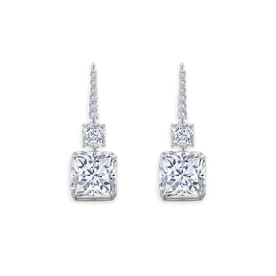 Arabella 24 Earring Diamond White - Anna Zuckerman Luxury