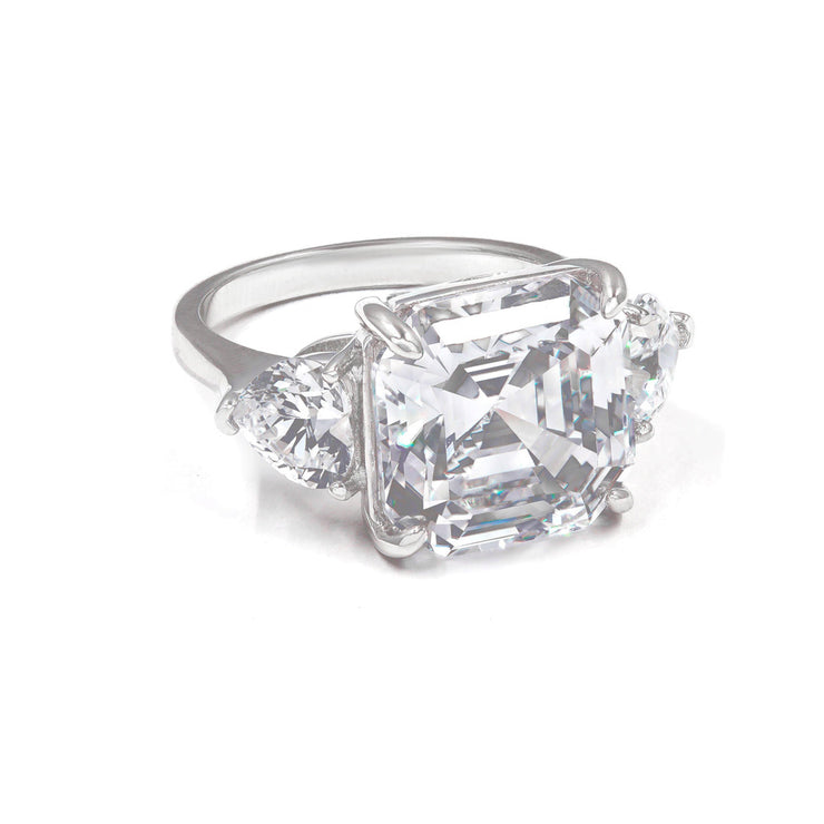Arabella 05 Ring Diamond White - Anna Zuckerman Luxury